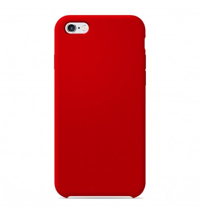 Coque Apple IPhone 6 / 6s Silicone Soft Touch - Rouge