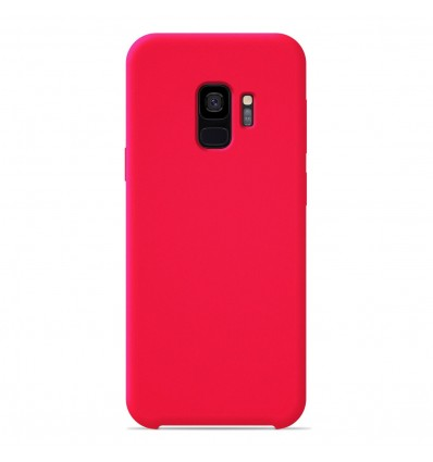 Coque Samsung Galaxy S9 Silicone Soft Touch - Rose