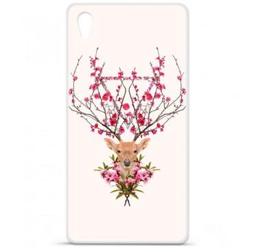 Coque en silicone pour Sony Xperia Z5 - RF Spring deer