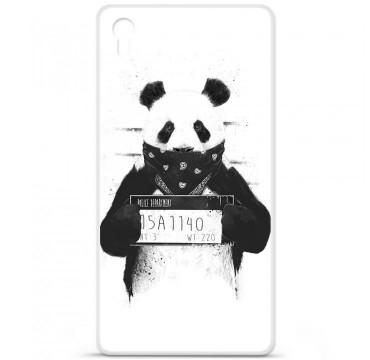 Coque en silicone pour Sony Xperia Z5 Premium - BS Bad Panda