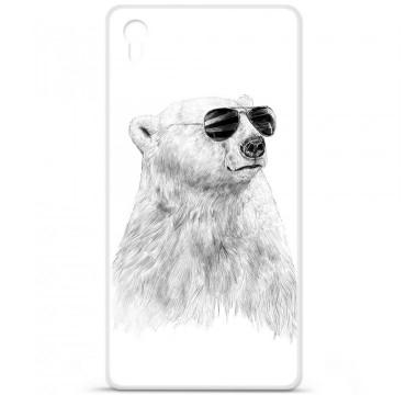 Coque en silicone pour Sony Xperia Z5 Premium - BS Sunny bear
