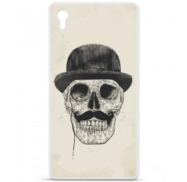 Coque en silicone pour Sony Xperia Z5 Premium - BS Class skull