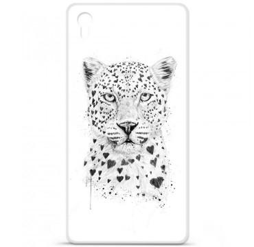 Coque en silicone pour Sony Xperia Z5 Premium - BS Love leopard