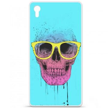 Coque en silicone Sony Xperia Z5 Premium - BS Skull glasses