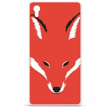 Coque en silicone pour Sony Xperia Z5 Premium - RF Foxy Shape