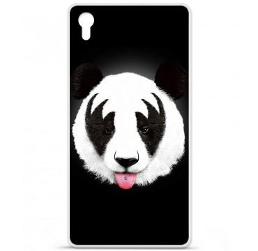 Coque en silicone pour Sony Xperia Z5 Premium - RF Kiss Of Panda