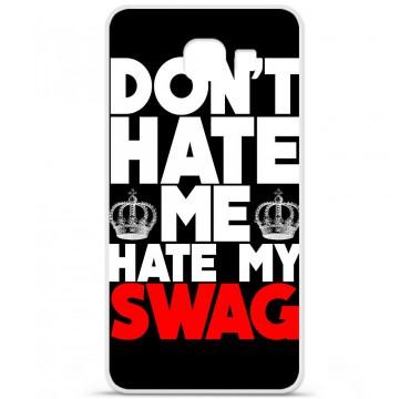 Coque en silicone pour Samsung Galaxy A3 2016 - Swag Hate