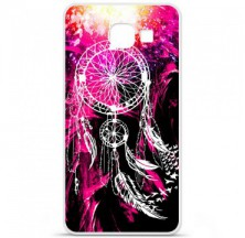 Coque en silicone Samsung Galaxy A3 2016 - Dreamcatcher Rose