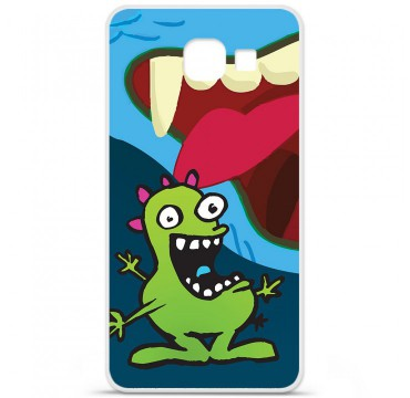 Coque en silicone Samsung Galaxy A3 2016 - Happy Monster