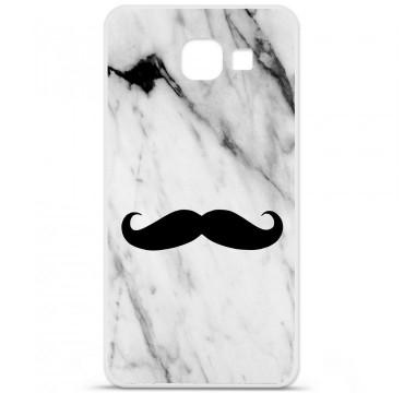 Coque en silicone Samsung Galaxy A3 2016 - Hipster Moustache