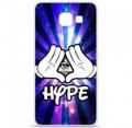 Coque en silicone pour Samsung Galaxy A3 2016 - Hype Illuminati