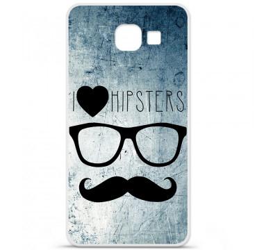 Coque en silicone pour Samsung Galaxy A3 2016 - I Love Hipster