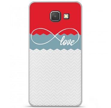 Coque en silicone pour Samsung Galaxy A3 2016 - Love Rouge