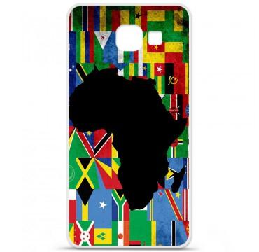 Coque en silicone pour Samsung Galaxy A3 2016 - Drapeau Afrique
