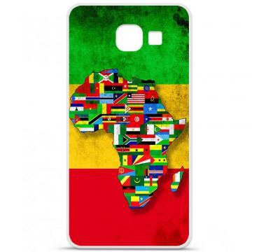 Coque en silicone pour Samsung Galaxy A3 2016 - Drapeau Africa Unite