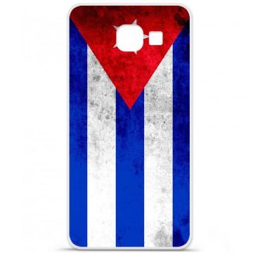 Coque en silicone pour Samsung Galaxy A3 2016 - Drapeau Cuba