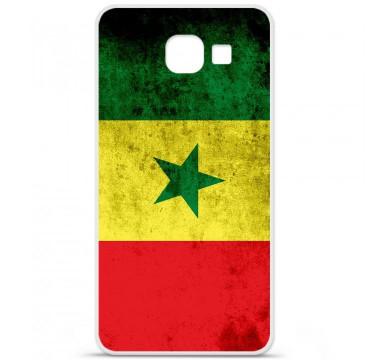 Coque en silicone pour Samsung Galaxy A3 2016 - Drapeau Sénégal