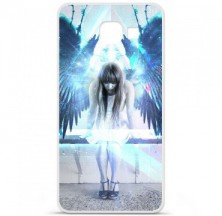 Coque en silicone Samsung Galaxy A3 2016 - Angel