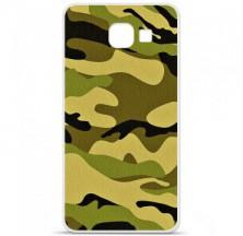 Coque en silicone Samsung Galaxy A3 2016 - Camouflage