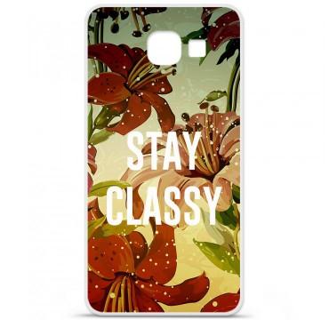 Coque en silicone Samsung Galaxy A3 2016 - Stay classy