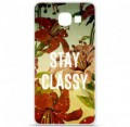 Coque en silicone pour Samsung Galaxy A3 2016 - Stay classy