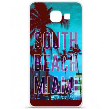 Coque en silicone pour Samsung Galaxy A3 2016 - South beach miami
