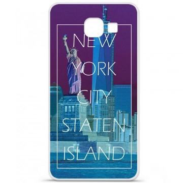 Coque en silicone pour Samsung Galaxy A3 2016 - New york