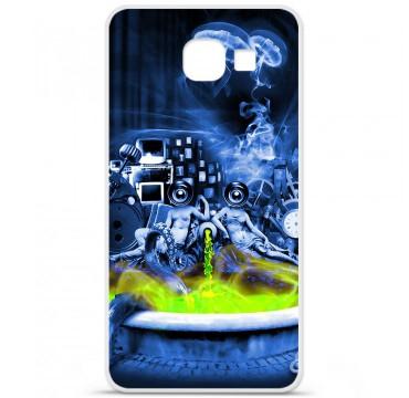 Coque en silicone pour Samsung Galaxy A3 2016 - Fontaine