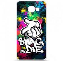 Coque en silicone Samsung Galaxy A3 2016 - Swag or die