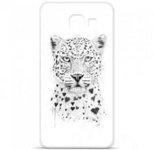 Coque en silicone Samsung Galaxy A3 2016 - BS Love leopard
