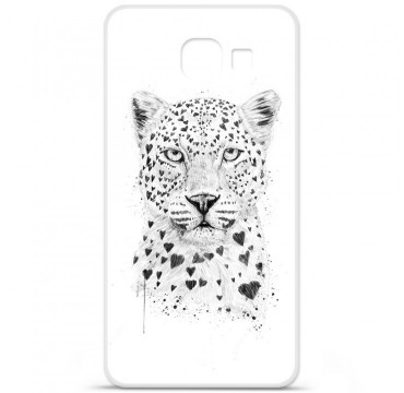 Coque en silicone pour Samsung Galaxy A3 2016 - BS Love leopard