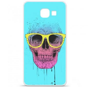 Coque en silicone pour Samsung Galaxy A3 2016 - BS Skull glasses