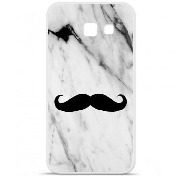 Coque en silicone pour Samsung Galaxy A5 2016 - Hipster Moustache