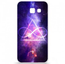 Coque en silicone Samsung Galaxy A5 2016 - Infinite Triangle