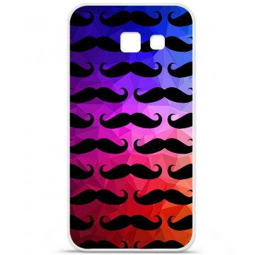 Coque en silicone pour Samsung Galaxy A5 2016 - Moustache