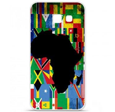 Coque en silicone pour Samsung Galaxy A5 2016 - Drapeau Afrique