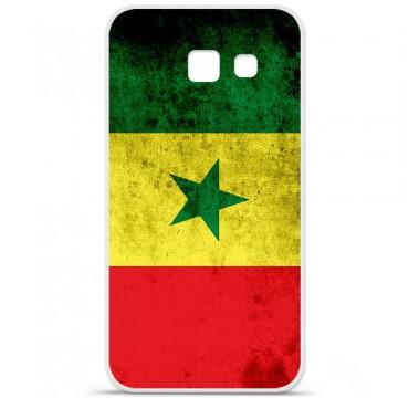 Coque en silicone pour Samsung Galaxy A5 2016 - Drapeau Sénégal