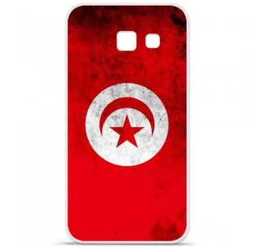 Coque en silicone pour Samsung Galaxy A5 2016 - Drapeau Tunisie
