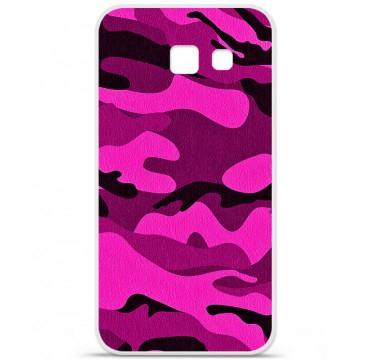 Coque en silicone pour Samsung Galaxy A5 2016 - Camouflage rose