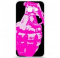 Coque en silicone pour Samsung Galaxy A5 2016 - Grenade rose