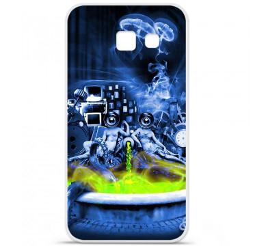 Coque en silicone pour Samsung Galaxy A5 2016 - Fontaine