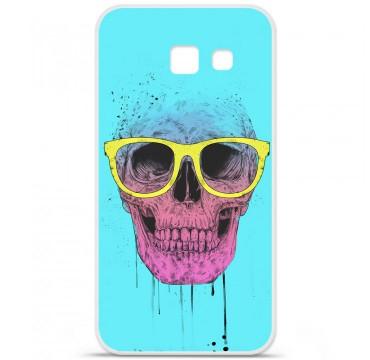 Coque en silicone pour Samsung Galaxy A5 2016 - BS Skull glasses