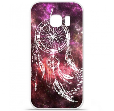 Coque en silicone Samsung Galaxy S7 - Dreamcatcher Space