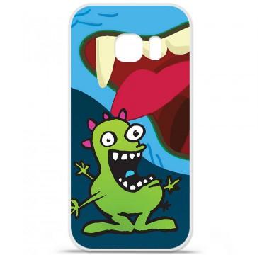 Coque en silicone pour Samsung Galaxy S7 - Happy Monster