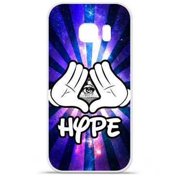 Coque en silicone Samsung Galaxy S7 - Hype Illuminati