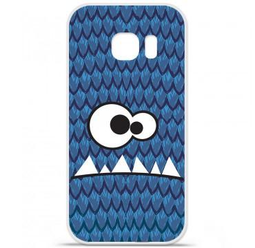 Coque en silicone pour Samsung Galaxy S7 - Monster