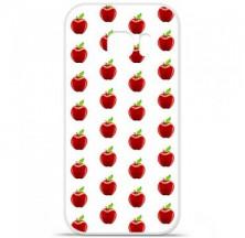 Coque en silicone Samsung Galaxy S7 - Pomme Blanc