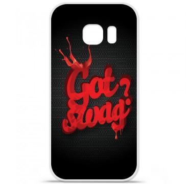 Coque en silicone pour Samsung Galaxy S7 - Swag Drop