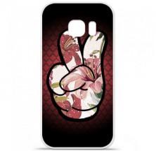 Coque en silicone Samsung Galaxy S7 - Swag Hand Couleur
