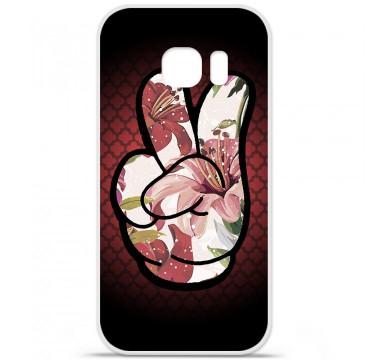 Coque en silicone pour Samsung Galaxy S7 - Swag Hand Couleur